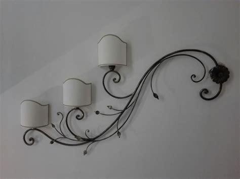applique da esterno in ferro battuto applique in ferro battuto realizzate a mano