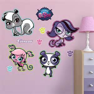 wall decal shop fathead for littlest pet graphics adh sifs stickers petshop fen tres pour
