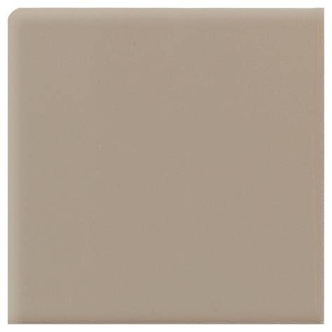 daltile semi gloss uptown taupe 2 in x 2 in ceramic bullnose corner wall tile 0132sn42691p1