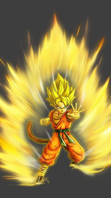 son goku dragon ball  iphone  wallpapers hd