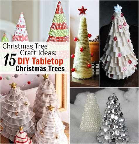 tree decoration craft ideas tree craft ideas 15 diy tabletop