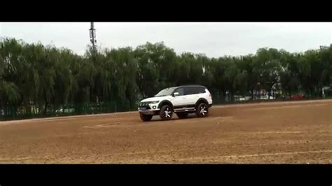 mitsubishi pajero sport modified pajero sport modified drift