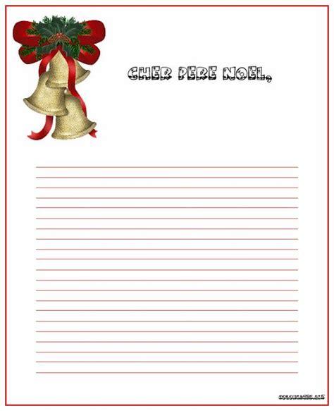 Exemple De Lettre Noel top du meilleur papier a lettre pour le pere noel