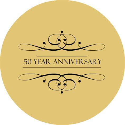 Wedding Anniversary Logo by 50 Years Anniversary Logo Www Imgkid The Image Kid