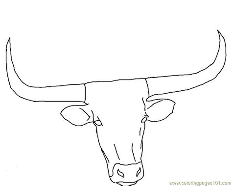 texas longhorns coloring pages coloring home