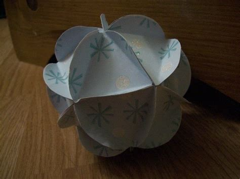 Origami Globe - paper globe 183 an origami shape 183 paper folding on cut out