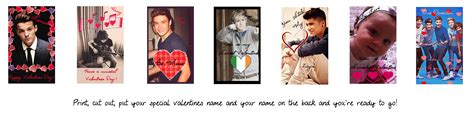 one direction s day cards one direction valentines day cards by iluvlouis on deviantart