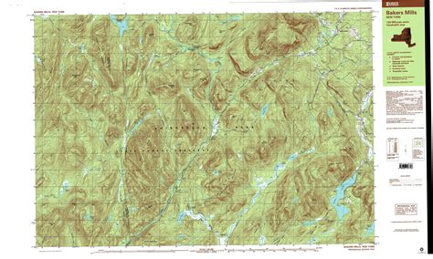 topographic map of new york topo maps 7 5 minute topographic maps 1 24 000