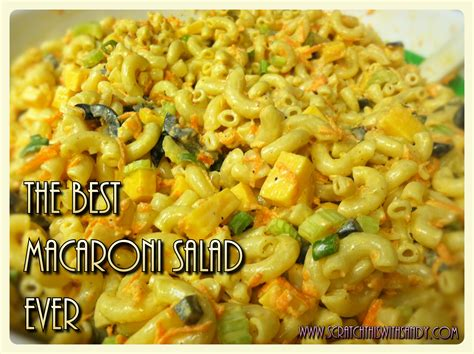 best macaroni salad myideasbedroom com the best macaroni salad ever scratch this with sandy