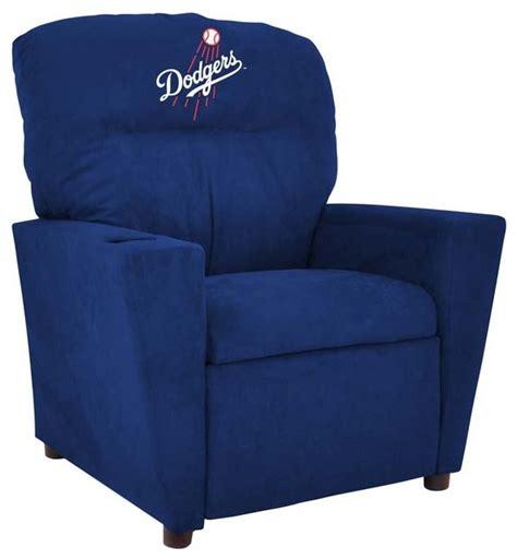 recliner chairs los angeles los angeles dodgers mlb kids recliner modern kids