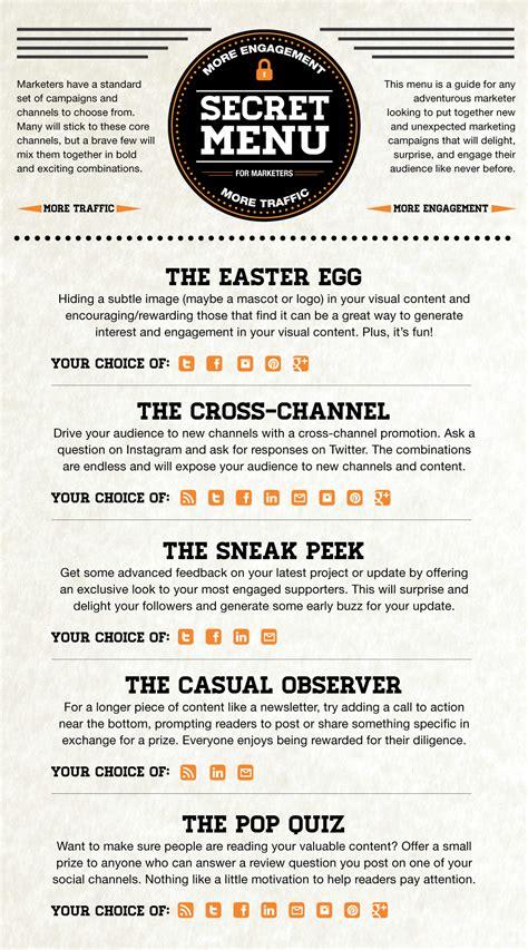 secret menu why your marketing should a secret menu sheet