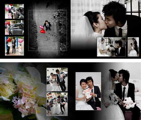wedding photobook layout wedding album design 3 4 by chris11art on deviantart