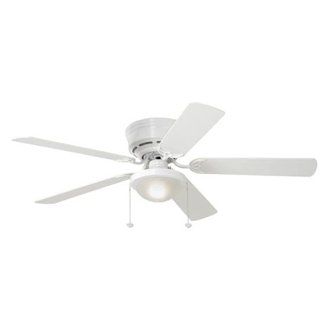 52 flush mount ceiling fan harbor breeze 52 in armitage flush mount ceiling fan