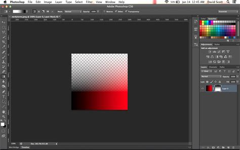 how to make a color transparent in photoshop how to create a color gradient in one direction with the
