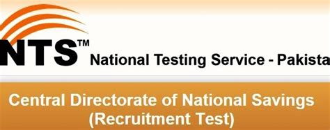 test pattern of junior national saving officer nts sle papers for central directorate of national savings