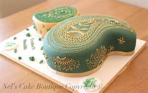 Decorate Home For Birthday Party paisley henna design cake tutorial nel s cake boutique