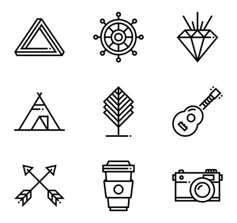 hipster tattoo png 20 hipster icon packs vector icon packs svg psd png