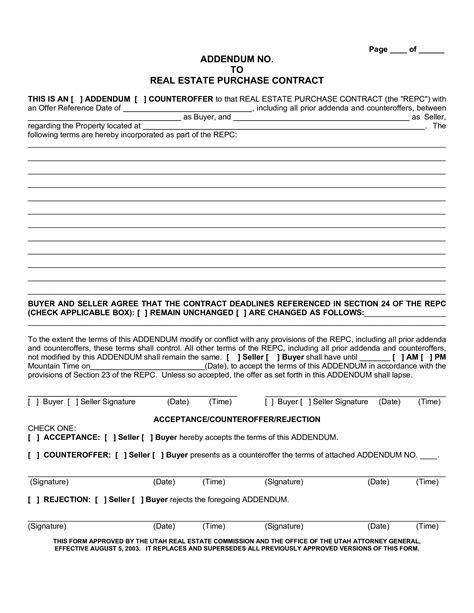 real estate counter offer letter templates