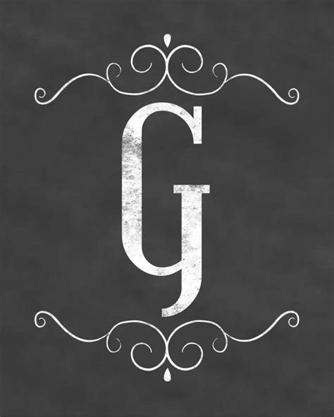printable chalkboard letters chalkboard sign printable of each letter of the alphabet