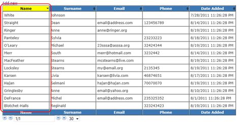 Jquery Table Sorter by Hajan Selmani Trigger Update To Jquery Tablesorter On