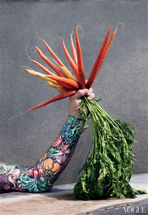 sean brock s tattoos appear in vogue july issue photo