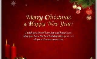 merry christmas and happy new year web designing