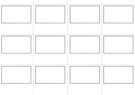 story board template by spenelo on deviantart