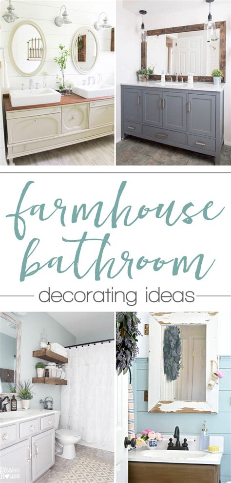 Ideas For Small Bathrooms Makeover farmhouse bathroom update ideas on a budget