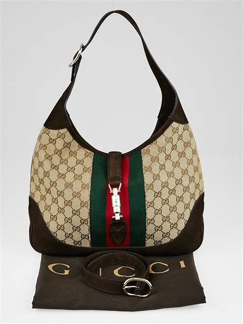 News Web Up Ebelle5 Handbags Purses 2 by Gucci Beige Gg Canvas Vintage Web New Jackie