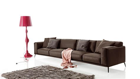 Low Leather Sofa Sectional Imitation Leather Sofa Kris Leather Low By Ditre Italia Design Stefano Spessotto