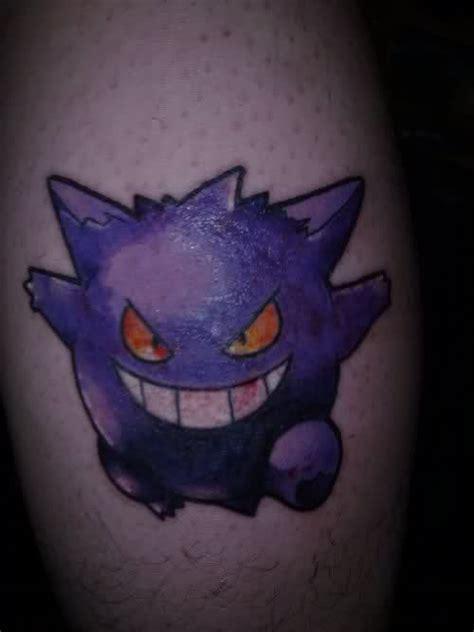 gengar tattoo gengar by mcroper on deviantart