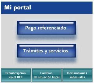 portal de servicios al contribuyente mi portal