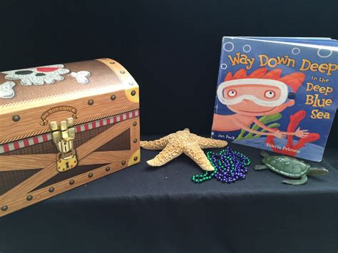 bettye s blue sea chest books easy to create story boxes paths to literacy