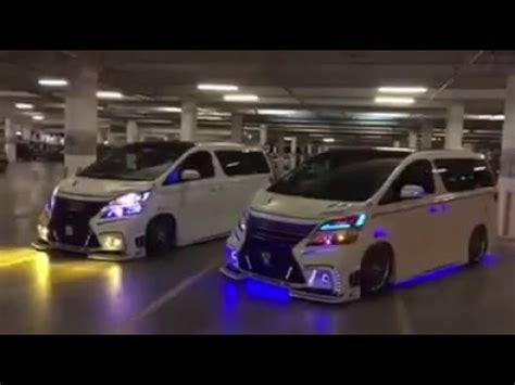 modified toyota alphard vellfire za bodykit custom lighting headlights mpv in malaysia