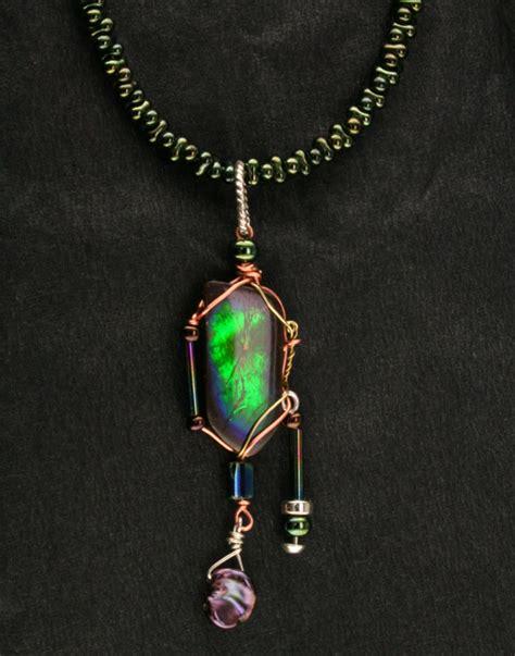 custom ammolite pendant mardon jewelers