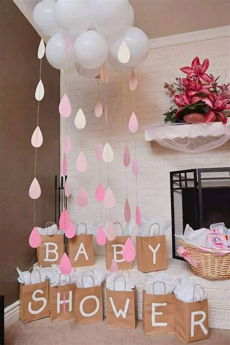 at home baby shower ideas best 25 baby shower decorations ideas on