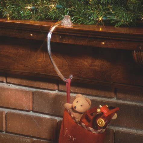 stocking hooks christmas stocking hooks for mantels