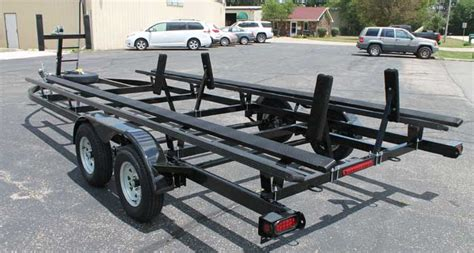 boat trailer rollers pontoon pontoon trailer bunks bing images