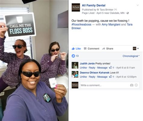 themes for facebook posts 3 ideas for fun dental facebook posts my social practice