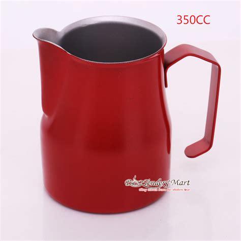 Yami Teflon Milk Jug Mug Teflon Yami Tempat Pembuih 600ml ca ä 225 nh sá a yami 350ml m 224 u ä á teflon milk jug si 234 u thá dá ng cá bar v 224 cafe