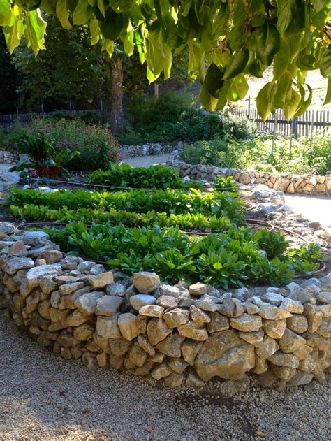 flower bed stones raised bed rock borders natural stone raised flower bed