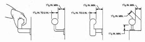 Graspable Handrail Deck Railings Guardrails Stair Rails Amp Handrailings Codes