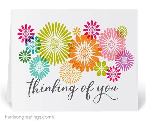 Business Thinking Of You Cards