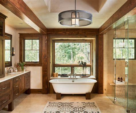 badezimmer rustikal rustic modern gunn creek home rustikal badezimmer