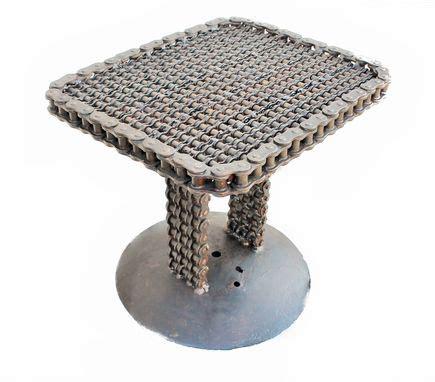 buy  custom chain art  table chain art furniture