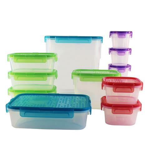 snapware containers snapware 1117295 airtight food storage container set 24 ebay