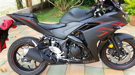 Yamaha R25 2017 yamaha r25 2017 matte black