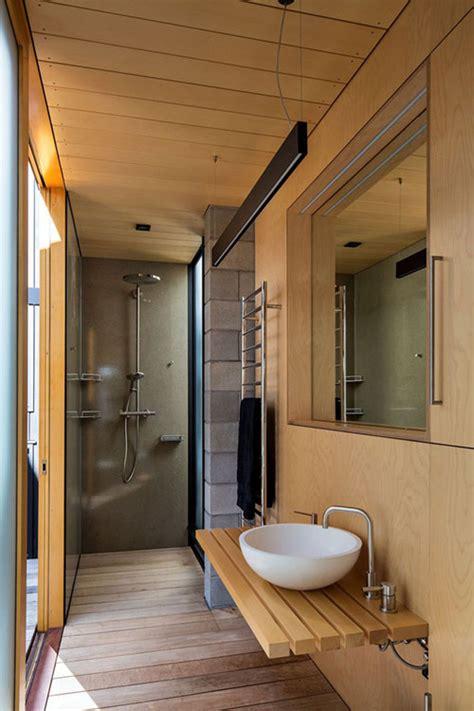 kleine badkamer hout kleine badkamer met hout badkamers voorbeelden