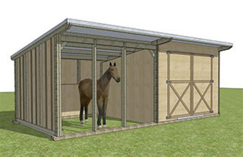Shed X by Shelter With Tack Shed