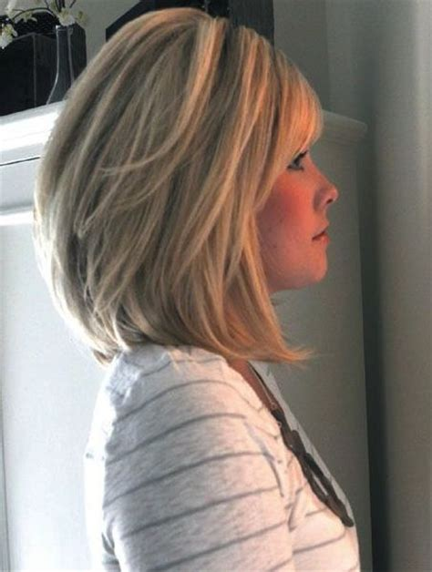 Hairstyles For Women Over 50 Short Bob With Layers